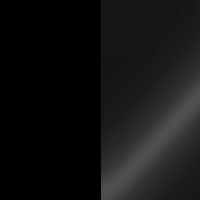 czarny mat bialy polysk