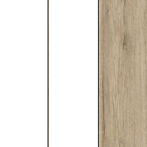 korpus: biały / front: biały / wstawki i nóżki: san remo jasny