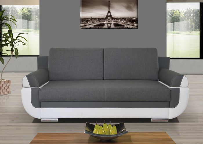Sofa Bed Nina With Storage Container Sleep Function Bonell